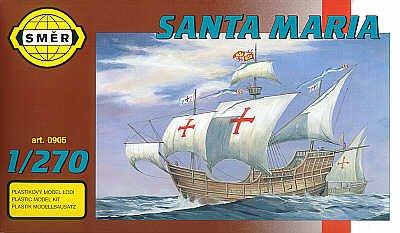 Maquette bateau: Santa Maria