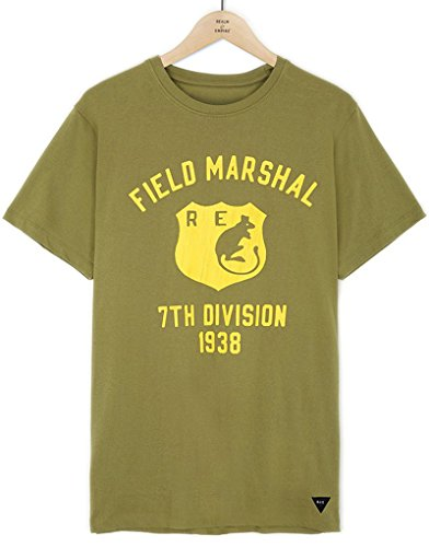 realm-and-empire-field-marshall-tee-in-green-x-large
