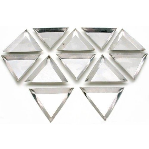 Images for SE 12 PC Triangle Tray Set, Size:3 1/4in X 3 1/4in X 3 1/4in