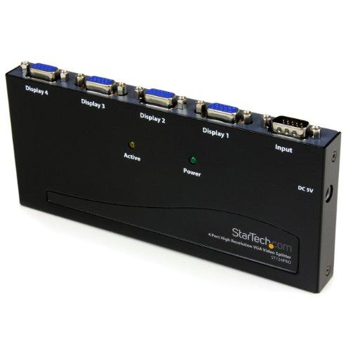 Startech.Com ST124PRO 4 Port High Resolution Vga Video Splitter-350 Mhz