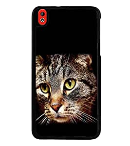 printtech Cat Eyes Back Case Cover for HTC Desire 816::HTC Desire 816 G