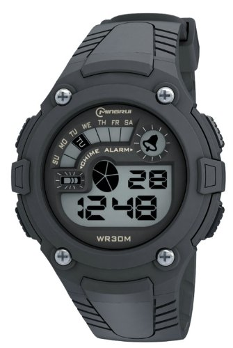 30M Water-Proof Digital Boys Girls Sport Watch With Alarm Stopwatch Chronograph Mr-8543051-1
