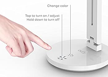 eufy Lumos A4 LEDデスクライト 【タッチコントロール / 4色カラー&5段階の照度調整 / 50,000時間照射寿命】