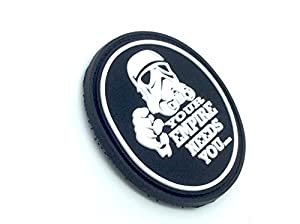 Your Empire Needs You Stormtrooper Star Wars PVC Airsoft Velcro Patch