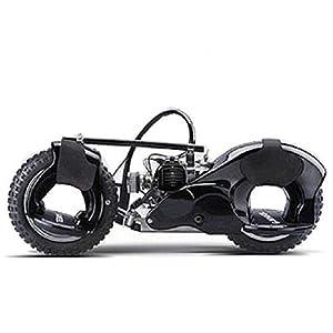 Wheelman 50cc Gas Skateboard in Black