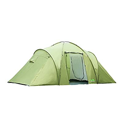 Arctic Monsoon Family Camping 2 Room Tent Starry T2, 4-6 Person Lightweight Waterproof Tent for Camping, Hiking, Backpacking, Picnic, Party Outdoor Indoor Use, Three Seasons