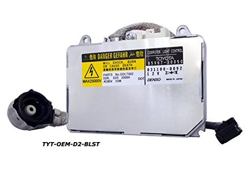 Genuine Toyota Denso DDLT002 85967-08010 & 85967-50020 & 85967-30050 D2S D2R 35W W/Ignitor and Power Cable 031100-0092