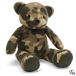 Gund Greetings Camo Bear - My Hero Wears Camo - 13