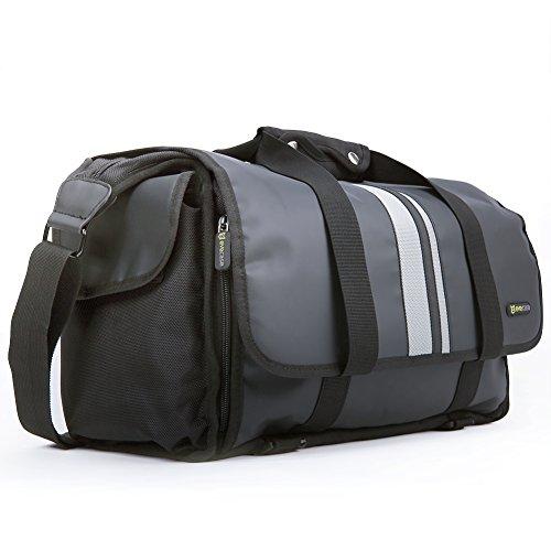 Evecase X-Grande Pro DSLR SLR Camera/Obbiettivi Custodia Borsa con Tracolla - Nero (Materiale di Acqua Resistente)