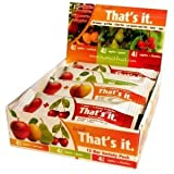 That's it. Variety Pack - Apple + Mango, Apple + Pear, Apple + Cherry & Apple + Apricot Natural Frut Bars (12x1.2oz)