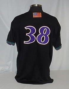 Curt Schilling Arizona Diamondbacks Vintage Rawlings Jersey w  2001 W.S. Patch