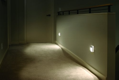 Firstlight Slimline Led Bathroom Wall Light In White: Amazon.com: Mr Beams MB726 Battery Powered Motion Sensing
