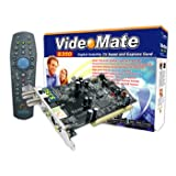 Compro Videomate S350 Digital Satellite TV Tuner Card with Remoteby Compro