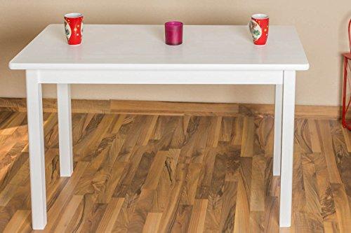 Tisch-Kiefer-massiv-Vollholz-wei-lackiert-Junco-227D-eckig-Abmessung-75-x-60-x-120-cm