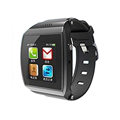 """1.55""""Led Capacitive Touch Screen Upro Bluetooth Smart Watch For Iphone Smart Phone Ios Android Apple Iphone 4/4S/5/5C/5S Android Samsung S2/S3/S4/Note 2/Note 3 Htc Sony(Black)"""