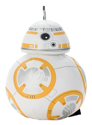 Japan Disney Official Star Wars the Force Awakens - BB-8 White Mascot Soft Plush Stuffed Toy Cushion Kids Doll Bean Bag Plushie House Table Decor Accessory Takara Tomy Arts