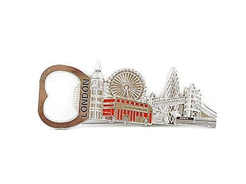 Londra Magnete apribottiglie Ponte di Londra Big Ben Bus by gr8vape