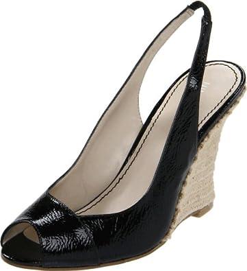 Nine West Women's Allgood Slingback Sandal,Black,10 M US