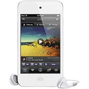 Apple iPod touch 64 GB 4th Generation (White) - Current Version