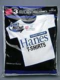 Hanes ヘインズ ブルーパック Tシャツ 白無地 3枚組 クルーネック XLサイズ