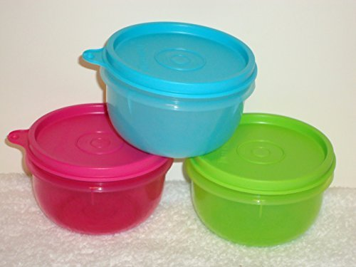 Tupperware Ideal Little Kids Bowl Set 3 2014 New Colors by Tupperware