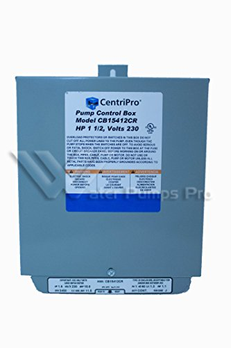 Cb15412Cr Centripro Submersible Pump Control Box 1.5 Hp 230 V Goulds