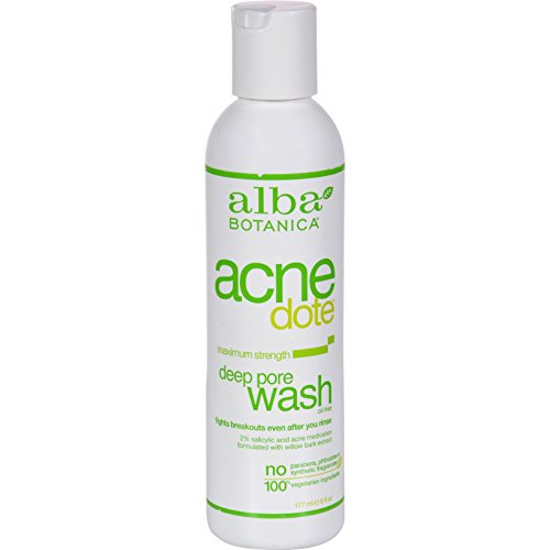 Alba Botanica Natural Acnedote Deep Pore Wash - 6 fl oz Alba