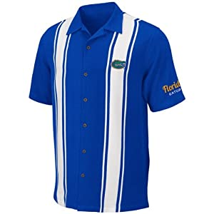 Florida Gators Mens Passage Camp Shirt by Chiliwear by Chiliwear LLC