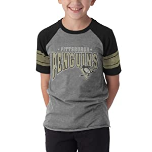 NHL Pittsburgh Penguins Playball Tee, Slate Grey by