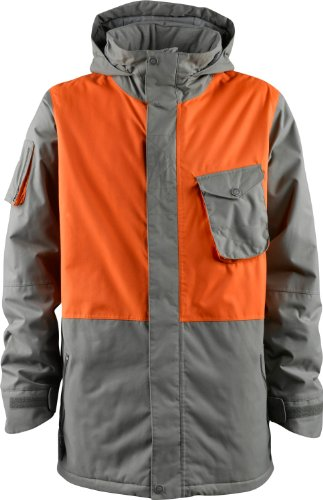 Foursquare Victory Ski Snowboard Jacket Granite/Sunset Sz M