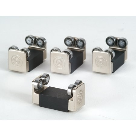 Ho/On30 E-Z Riders With Ball-Bearing Rollers - Pack Of 4