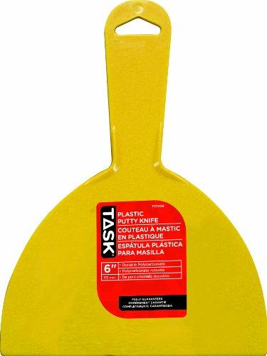 Task Tools T37406 6-Inch Putty Knife, Plastic