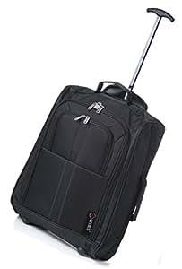 5 Cities Bagages cabine TB023-602 BLACK Noir 33 L
