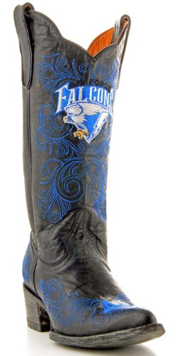 Gameday Boots Womens College Team Air Force Falcons Black AF-L055-1