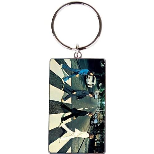 Metal-Keyring-The-Beatles-Abbey-Road