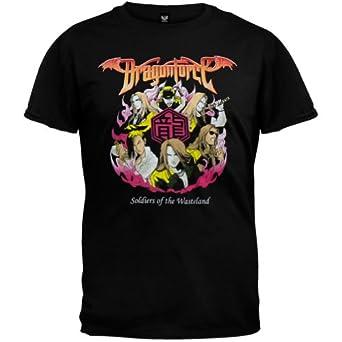 Dragonforce - Mens Badge T-shirt - X-Large Black