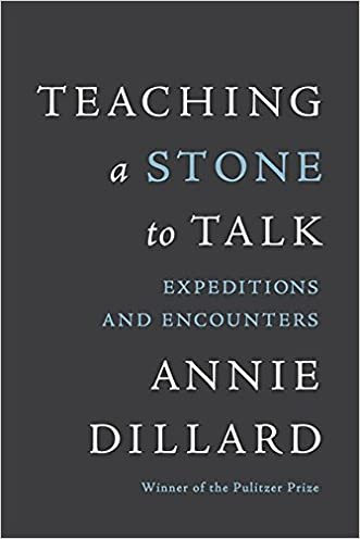 Teaching a Stone to Talk: Expeditions and Encounters written by Annie Dillard