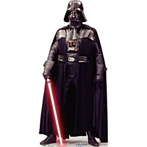 Life Size Star Wars Darth Vader Cardboard Cutout