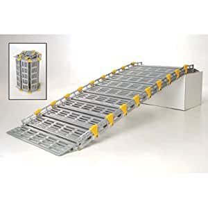 Roll-A-Ramp Roll-Away Ramp - Up to 38in. Rise, 775-Lb. Capacity, 10ft.L x 36in.W, Model# A13609A19
