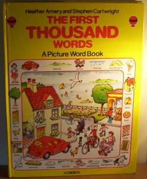 The First Thousand Words: A Picture Word Book (Usborne First 1000 Words) (1000 Words Picture Book compare prices)