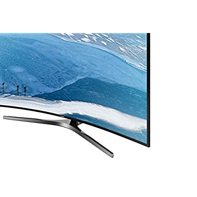 Samsung 124 cm (49 inches) UA49KU6570ULXL-SF 4K Ultra HD LED TV (Dark Black)