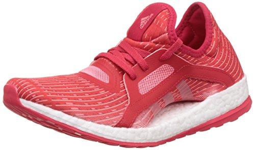 adidas Donna Pureboost X scarpe da corsa rosso Size: 38
