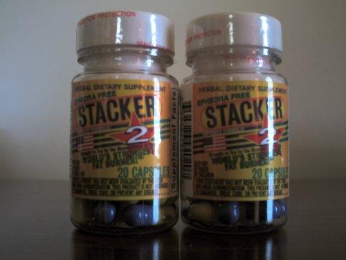STACKER 2 FAT BURNER EPHEDRA FREE (2)20CT. BOTTLES