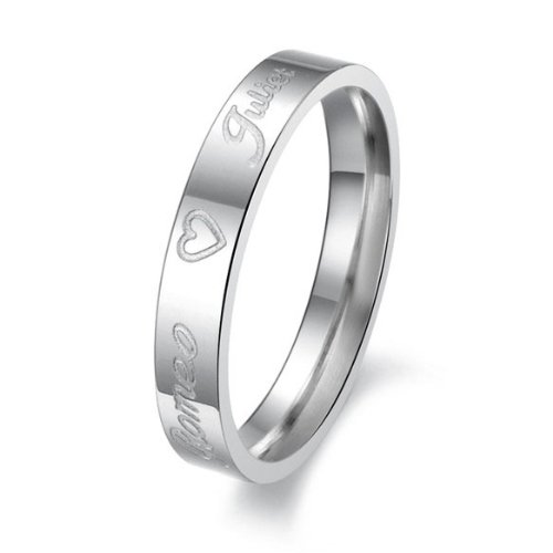 Fashion 316L Stainless Steel Wedding Band