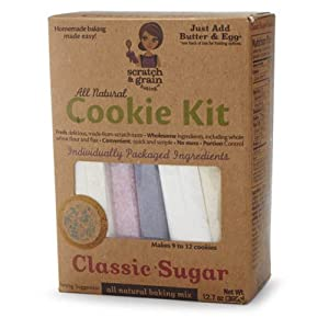 Scratch & Grain Baking Scratch & Grain All Natural Sugar Cookie Kit