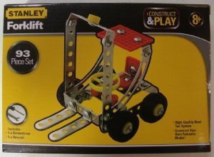 Stanley Construct and Play 93 Piece Set Forklift