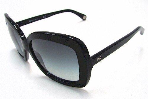DOLCE & GABBANA D&G 3047 Sunglasses Black 501/8G Shades