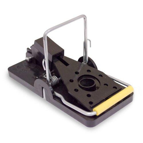 Aspectek Mouse Trap 6-Pack, Easy Reusable Mouse Control Snap Trap Set