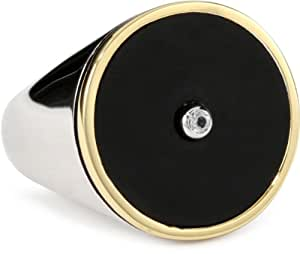 Elizabeth and james nile round black onyx for Who sells lizzy james jewelry
