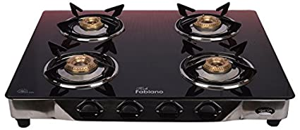 Fabiano G-400 4 Burner Gas Cooktop